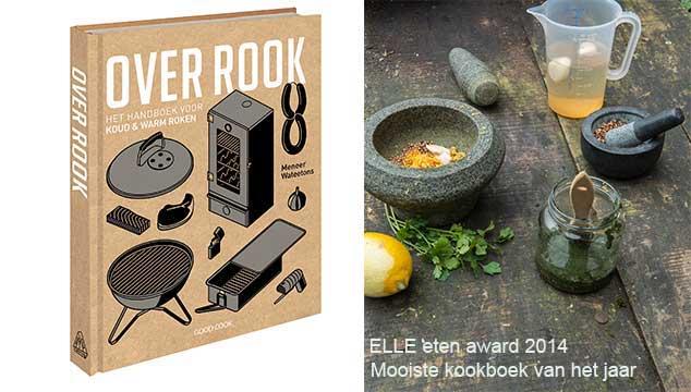 Over Rook wint de Elle Eten Award 2014; mooiste kookboek van het jaar