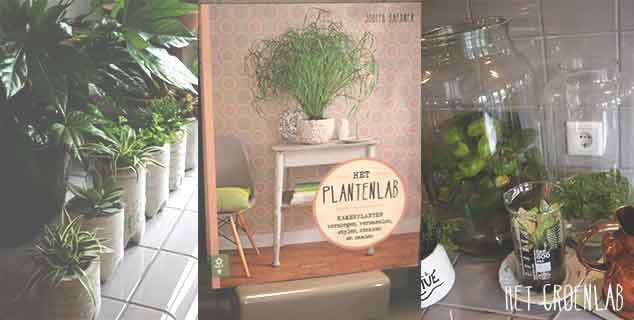 'het Plantenlab'- boek over kamerplanten is er!